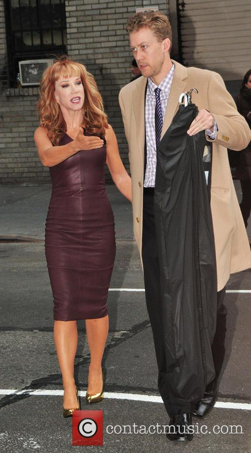 Kathy Griffin; Randy Bick Kathy Griffin arrives at...