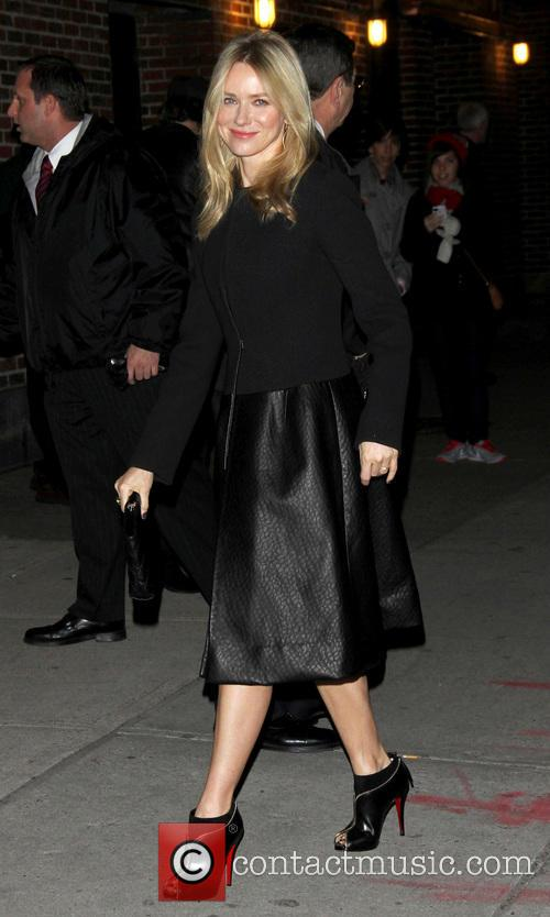 Naomi Watts Late Show With David Letterman at...