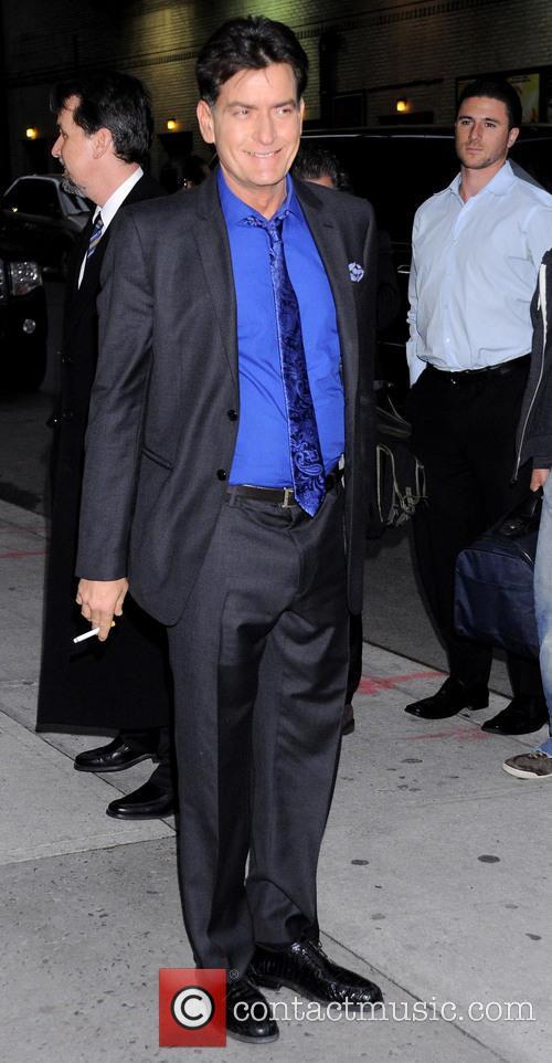 charlie sheen celebrities at the ed sullivan 20062223