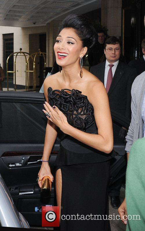 Nicole Scherzinger and Dorchester Hotel 3