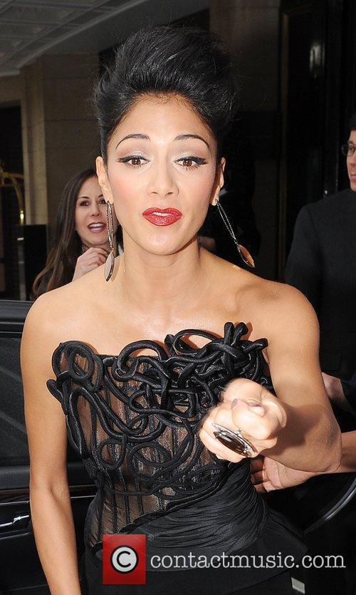 Nicole Scherzinger and Dorchester Hotel 4