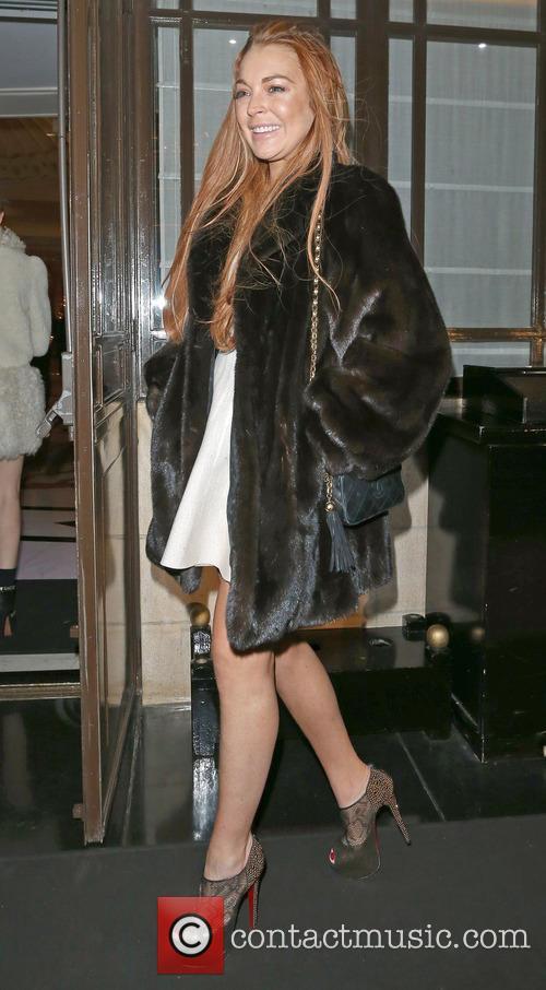Lindsay Lohan Lindsay Lohan on a night out...