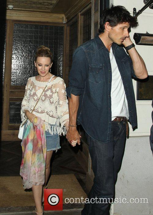 Kylie Minogue and Andres Velencoso 2