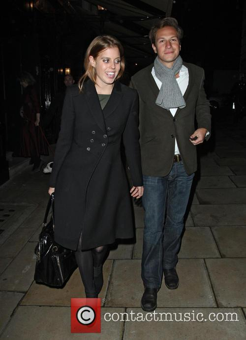 Princess Beatrice and Dave Clarke 1