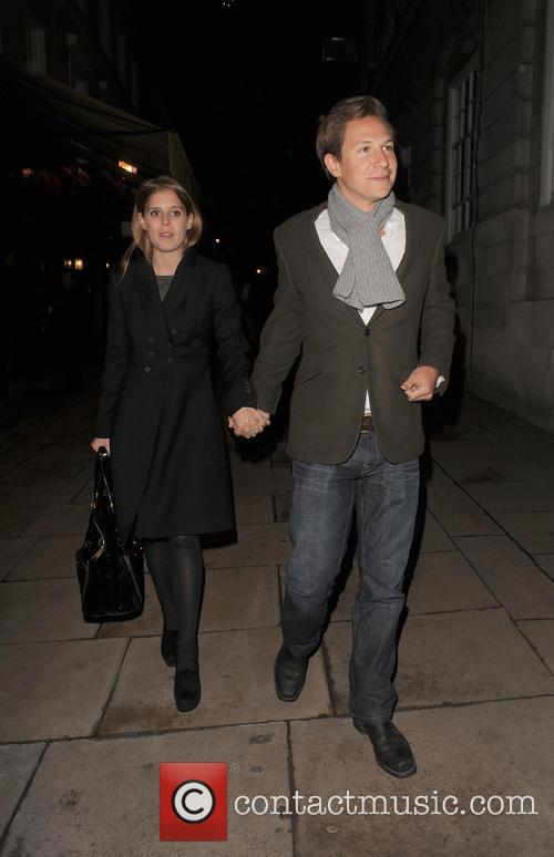 Princess Beatrice and Dave Clark 4