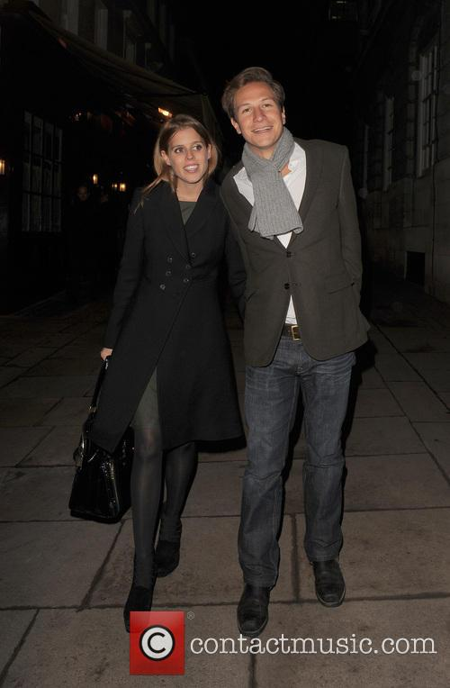 Princess Beatrice and Dave Clark 6