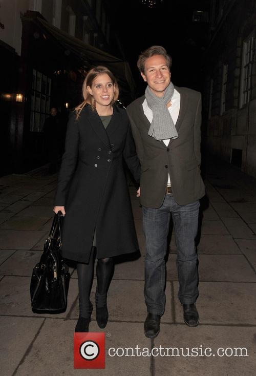 Princess Beatrice and Dave Clark 5