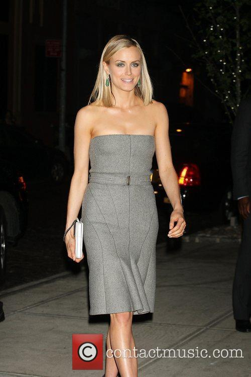 Arrives for the premiere of The Lucky One