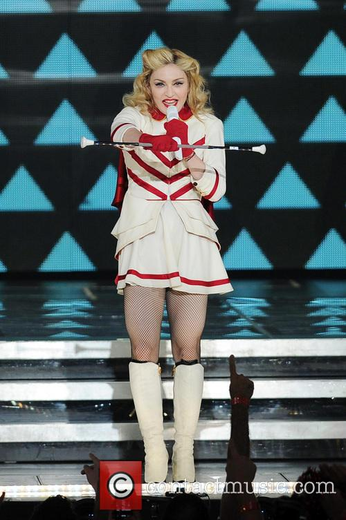 Madonna, North American and The American Airlines Arena 11