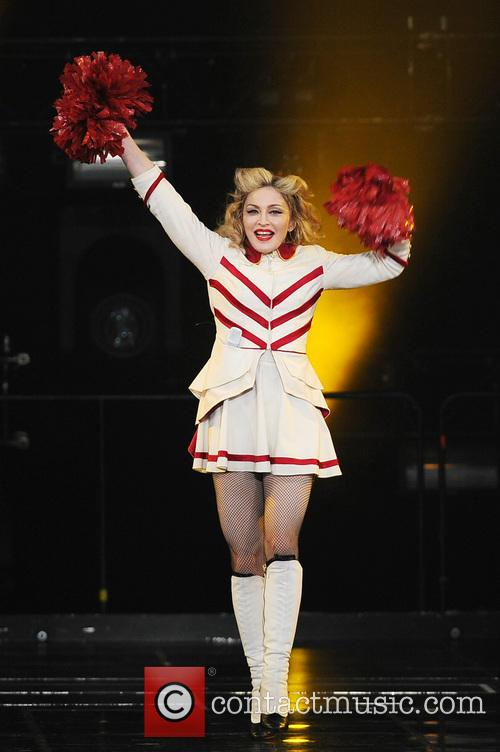 Madonna, North American and The American Airlines Arena 3