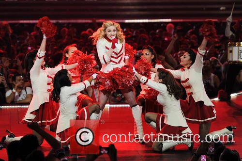 Madonna, North American and The American Airlines Arena 4