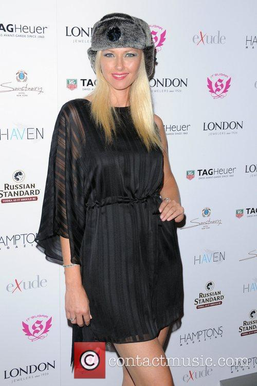 Hamptons Magazine celebrate with cover star Maria Sharapova...