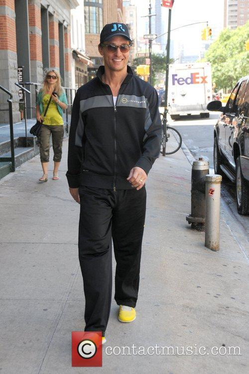 matthew mcconaughey is seen out and about 5870093