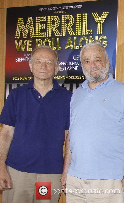 Jonathan Tunick and Stephen Sondheim CD Signing for...