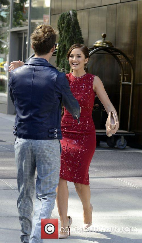 Brad Goreski and Minka Kelly 2