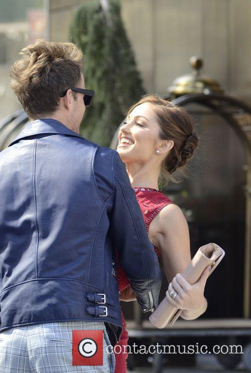 Brad Goreski and Minka Kelly 3