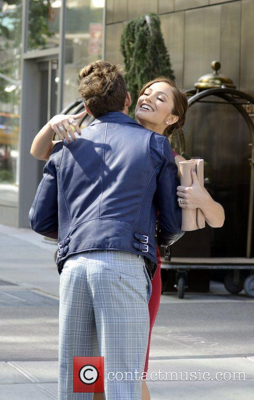 Brad Goreski and Minka Kelly 6