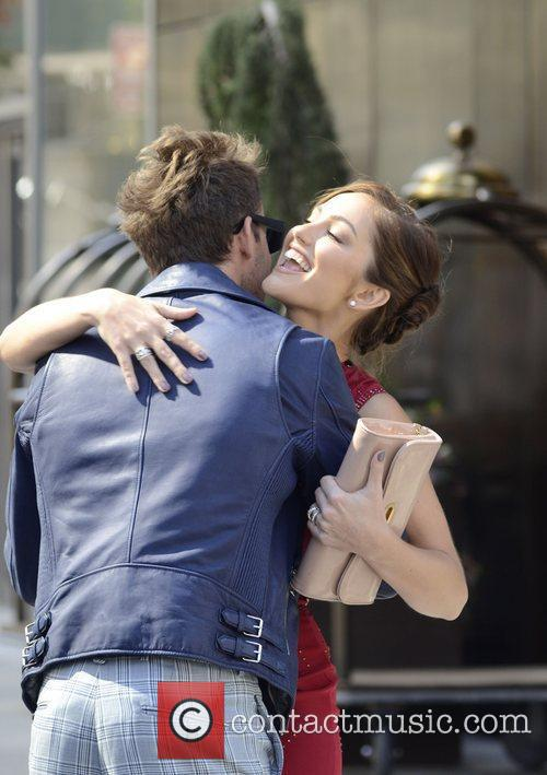Brad Goreski and Minka Kelly 1