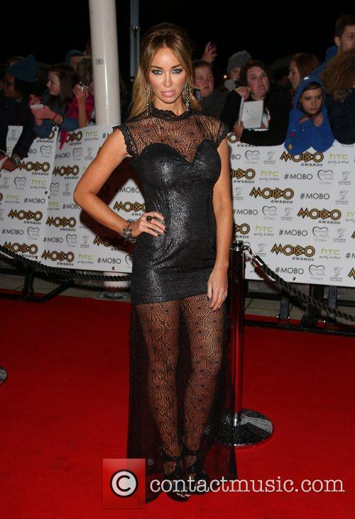 Lauren Pope and Mobo 2