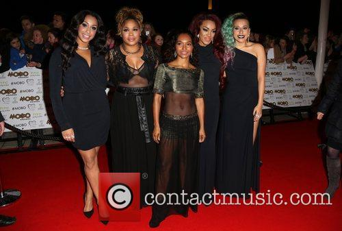 Stooshe and TLC The MOBO awards 2012 held...