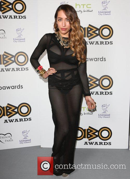 Delilah The MOBO awards 2012 held at the...