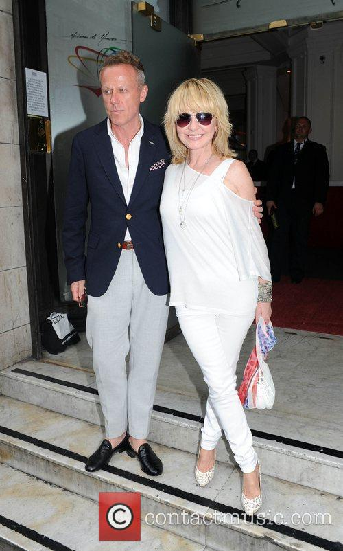 Lulu and guest  Prince Albert II of...