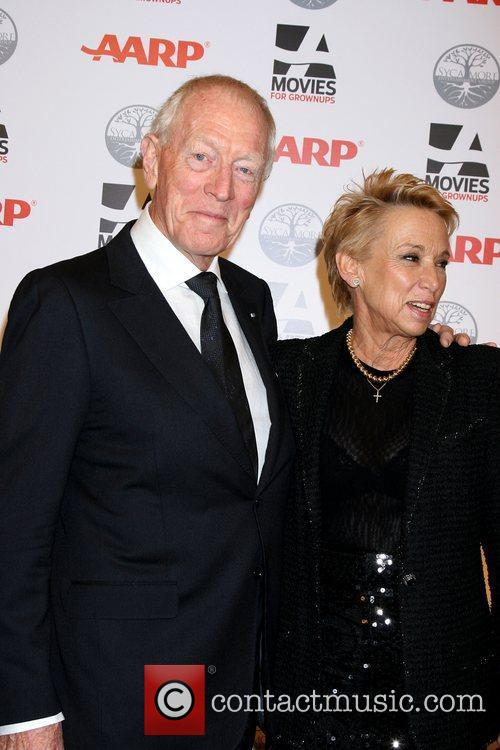 Max von Sydow, Wife Catherine Brelet  AARP's...