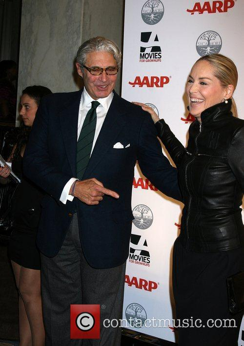 Sharon Stone, Michael Nouri  AARP's 11th Annual...