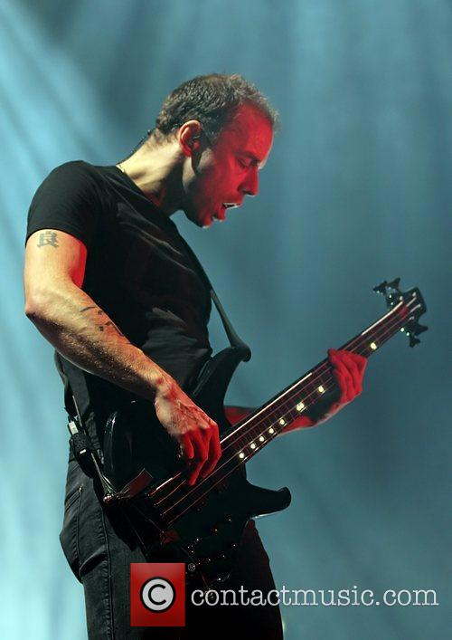 Muse's Chris Wolstenholme In Manchester