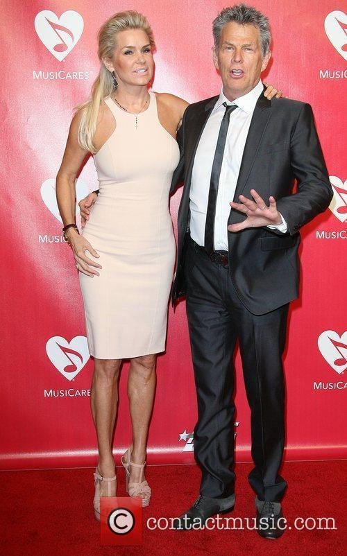 David Foster and Yolanda Hadid 2012 MusiCares Person...