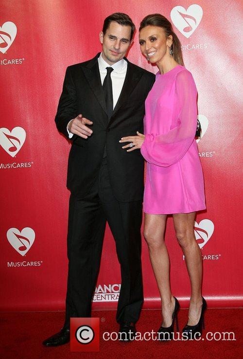 Giuliana Rancic and husband Bill Rancic 2012 MusiCares...