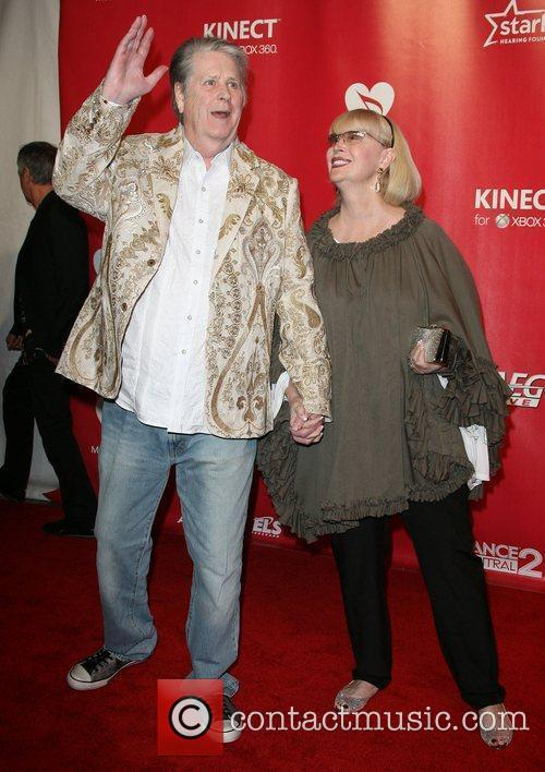 Brian Wilson and Melinda Wilson 2012 MusiCares Person...