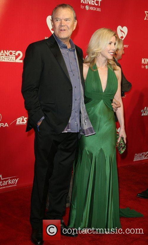 Glen Campbell and Kim Woolen 2012 MusiCares Person...