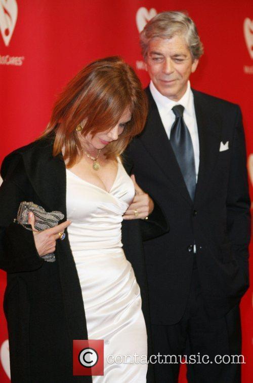 Rosanna Arquette and Todd Morgan 2012 MusiCares Person...