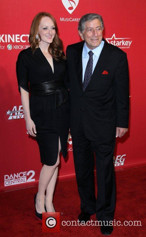 Antonia Bennett and Tony Bennett  2012 MusiCares...
