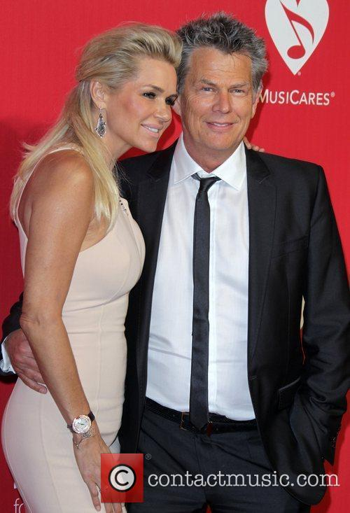 David Foster and Guest 2012 MusiCares Person Of...
