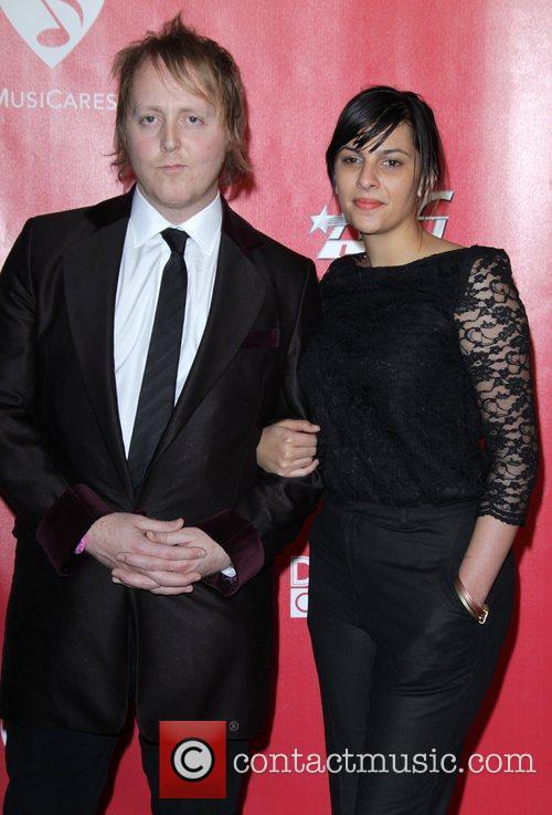 James McCartney and Jade Nazareth  2012 MusiCares...