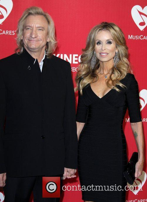 Joe Walsh and Guest 2012 MusiCares Person Of...