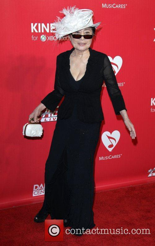 Yoko Ono 2012 MusiCares Person Of the Year...