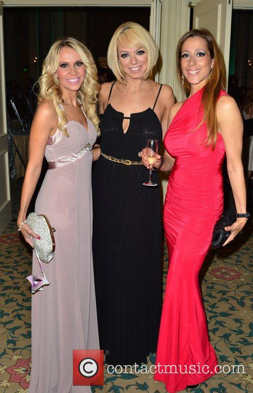 Liz McClarnon and guests at the