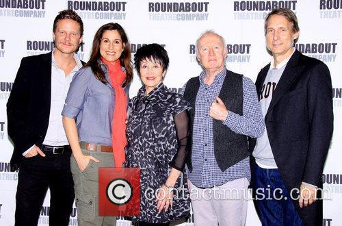 Will Chase, Stephanie J. Block, Chita Rivera, Jim Norton and Gregg Edelman 1