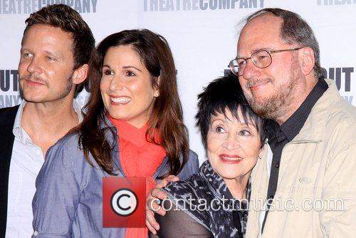 Will Chase, Stephanie J. Block, Chita Rivera and Rupert Holmes 3