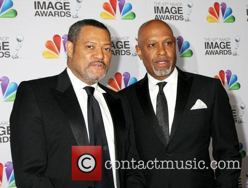 Laurence Fishburne and James Pickens 2
