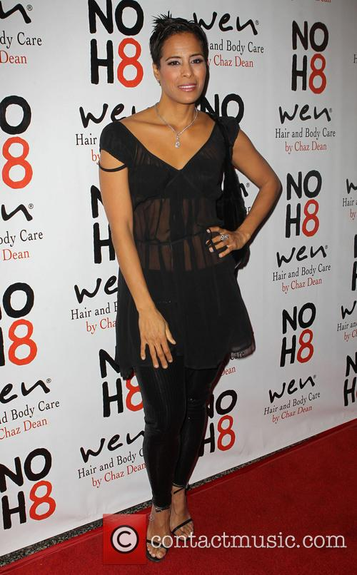 Daphne Wayans NOH8 Celebrity Studded 4th Anniversary Party...