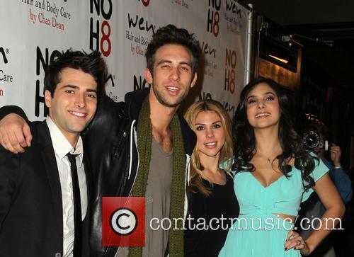 Freddie Smith; Blake Berris; Kate Mansi and Camila...
