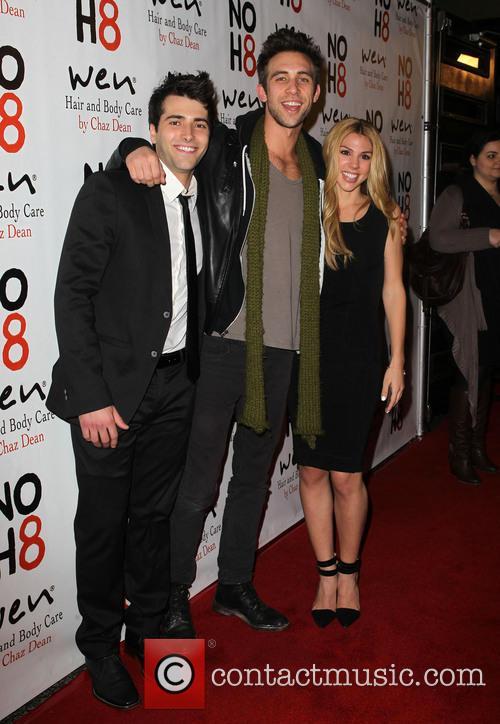 Freddie Smith; Blake Berris; Kate Mansi NOH8 Celebrity...