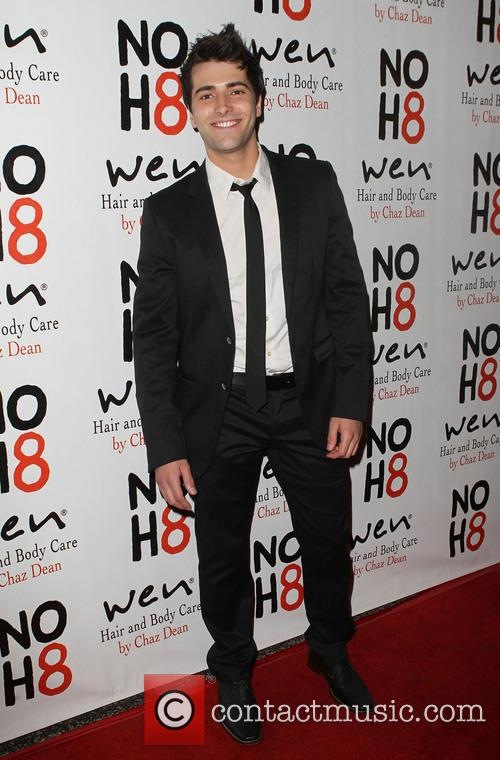 Freddie Smith NOH8 Celebrity Studded 4th Anniversary Party...