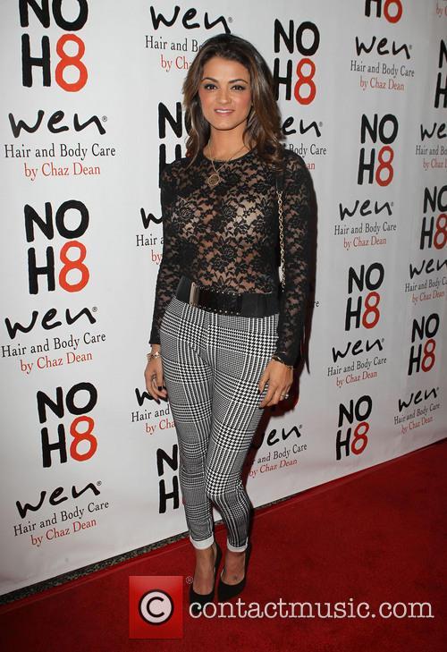 Golnesa Gharachedaghi NOH8 Celebrity Studded 4th Anniversary Party...