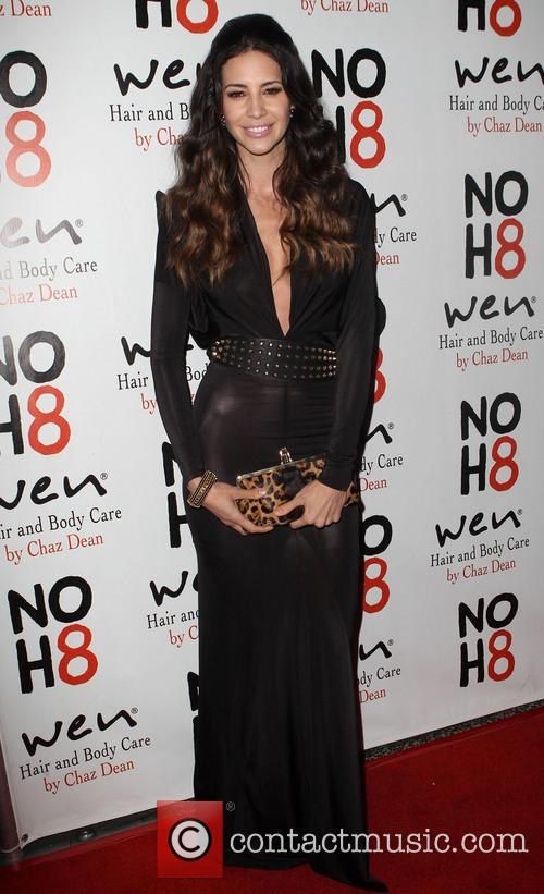 Hope Dworaczyk NOH8 Celebrity Studded 4th Anniversary Party...