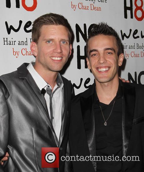 Jeff Parshley; Adam Bouska NOH8 Celebrity Studded 4th...